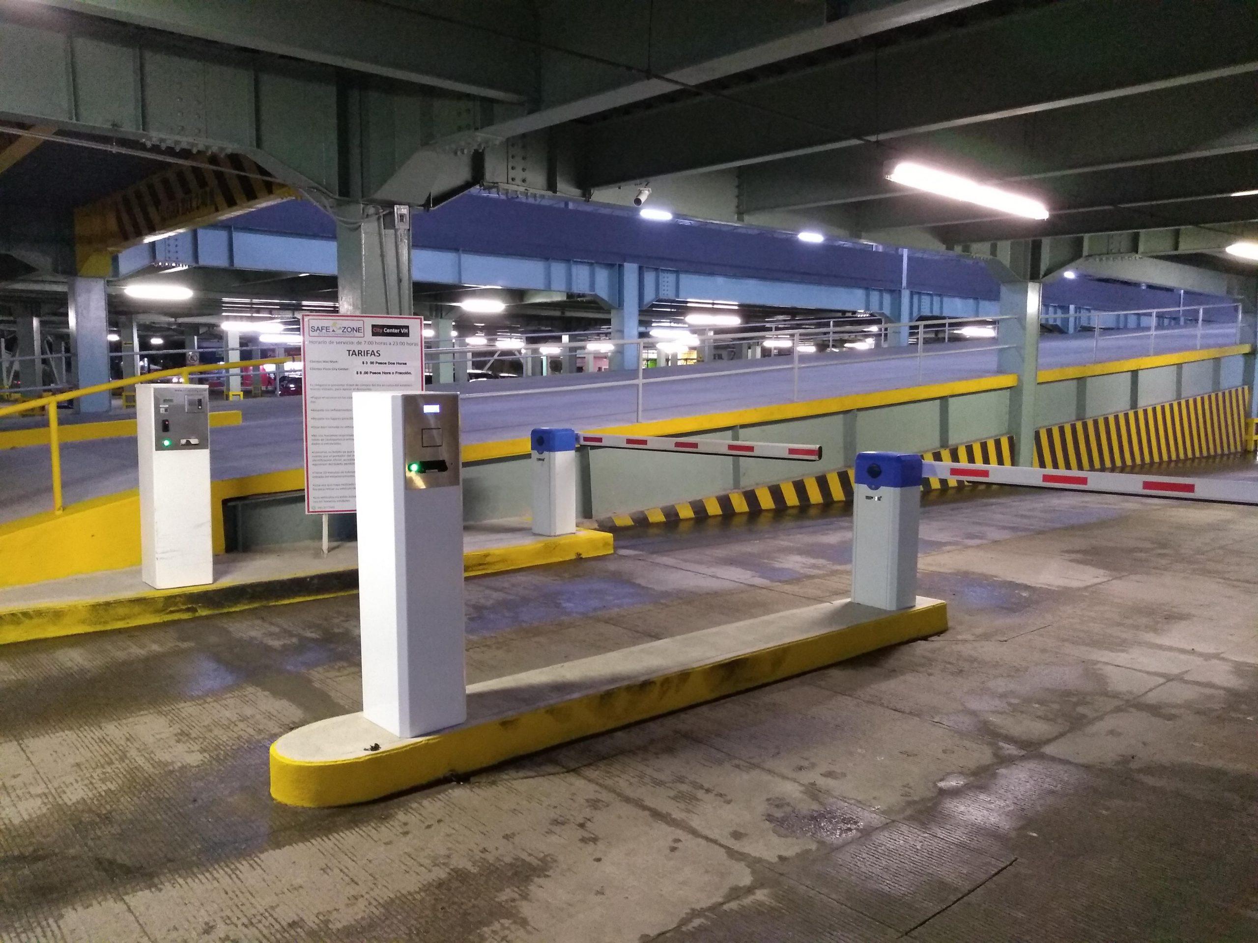 Equipo para Estacionamiento